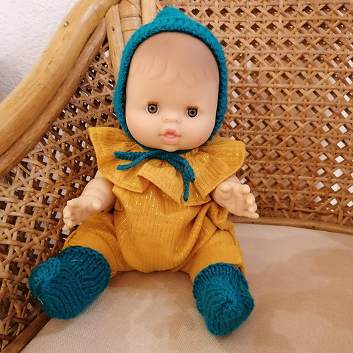 PAOLA REINA - Poupée européenne bonnet et chaussettes
