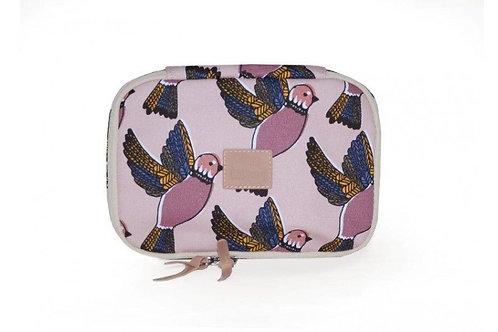 JOJO FACTORY - Lunchbag isotherme imprimé pink birds