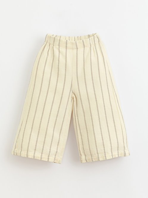 PLAY UP - Pantalon ample ligné/Striped trousers | Botany