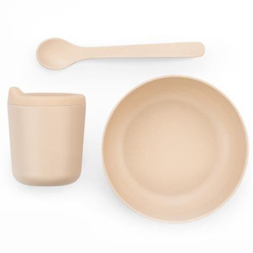 EKOBO - Set repas en bamboo blush