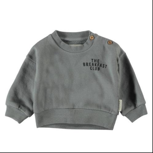 PI AW21Unisex sweatshirt | grey w/ print |