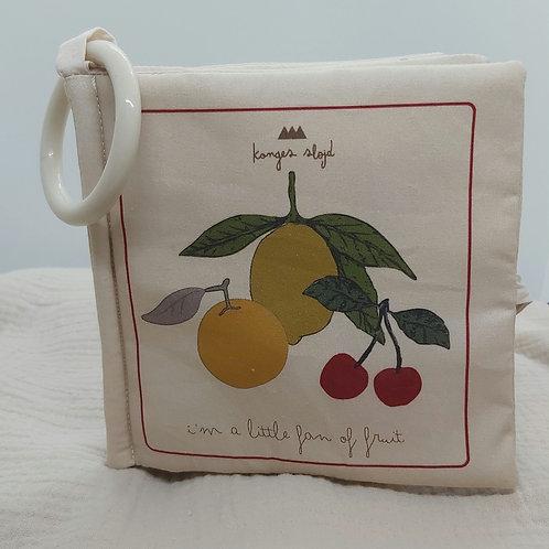 KONGES SLOJD - Fruit fabric book