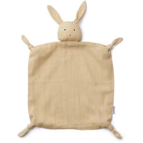 LISTE DUPAS PETERS - Agnete cuddle cloth - rabbit jaune