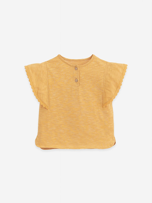 PLAY UP - Sunflowers Organic cotton T-shirt | Botany