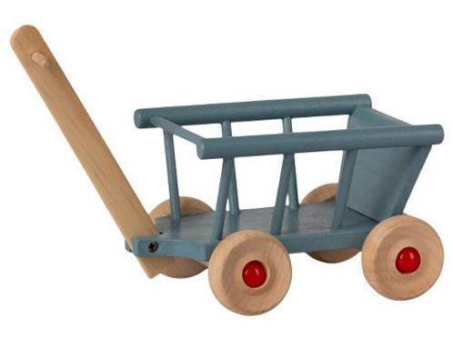 MAILEG - Chariot bleu