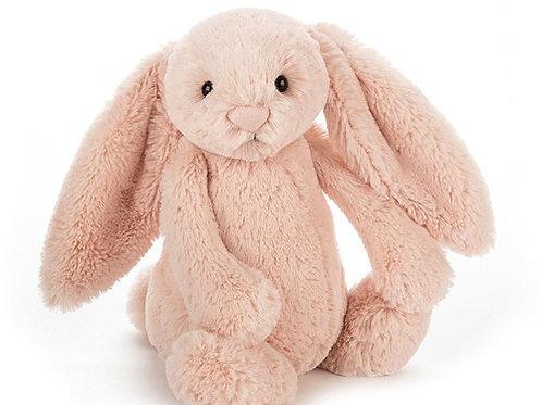 JELLYCAT - Bunny bashful blush, lapin blush medium