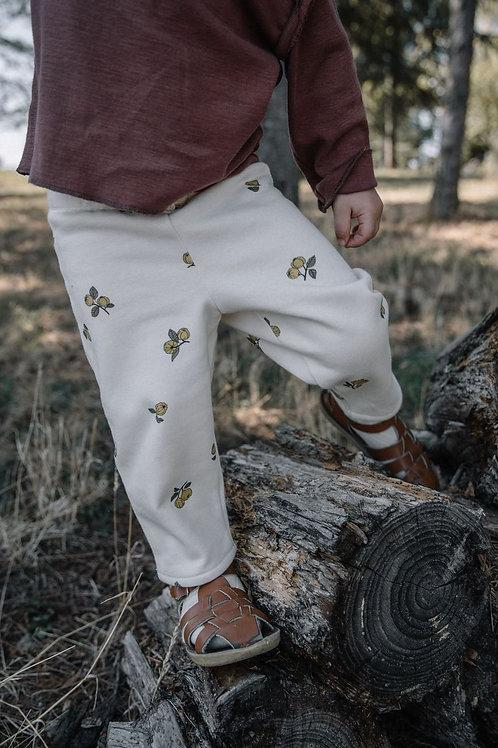 STUDIO BOHEME - Pantalon motifs coings