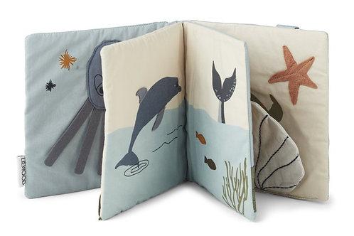 Liste Delzenne Debroux - Livre Liewood tissu mer bleu