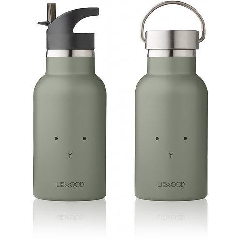 LIEWOOD - Gourde en métal lapin faune green