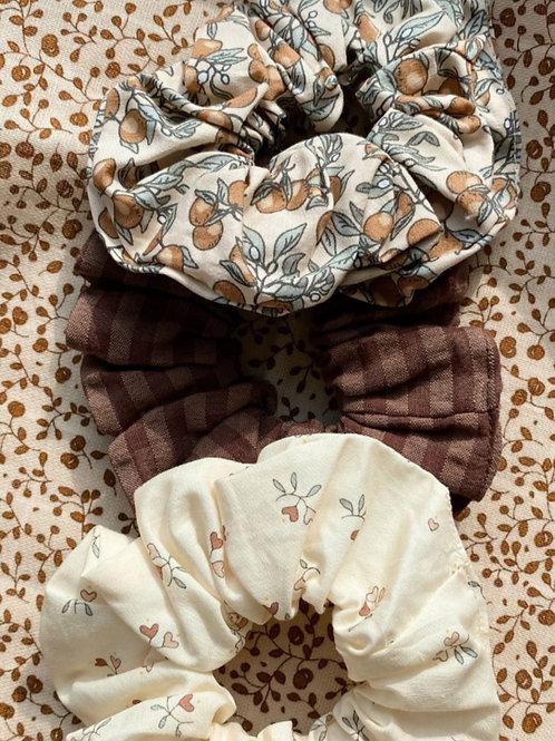 KONGES SLOJD - 3 chouchous à cheveux pour petite fille