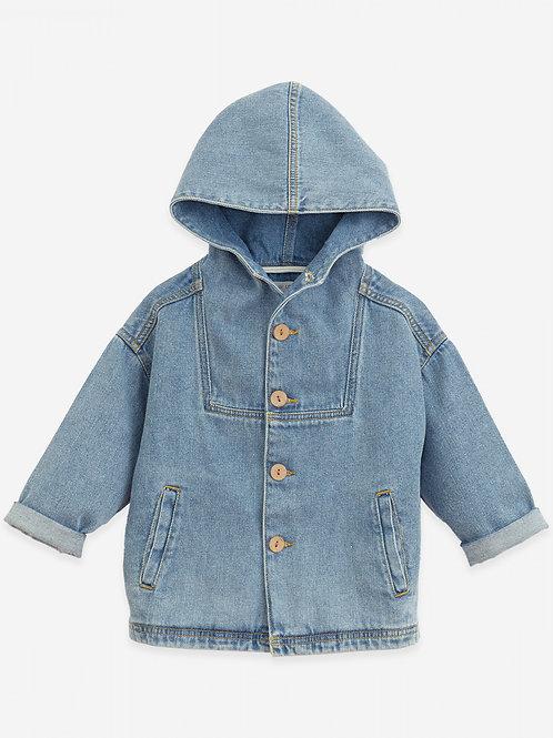 PLAY UP - Veste Jean/Cotton denim jacket   Botany
