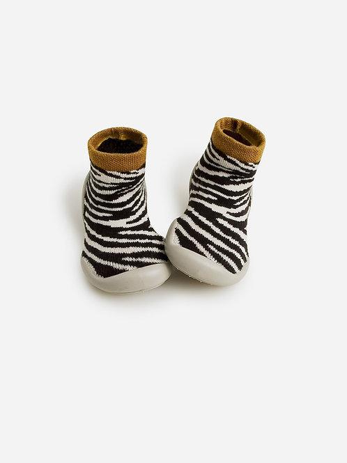 Liste Leroy Pecquereau - Collegiens chaussons zébra