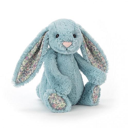 JELLYCAT - Lapin bleu fleurs