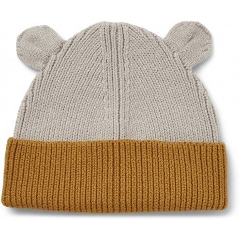 LIEWOOD - Gina - Bonnet bicolore moutarde