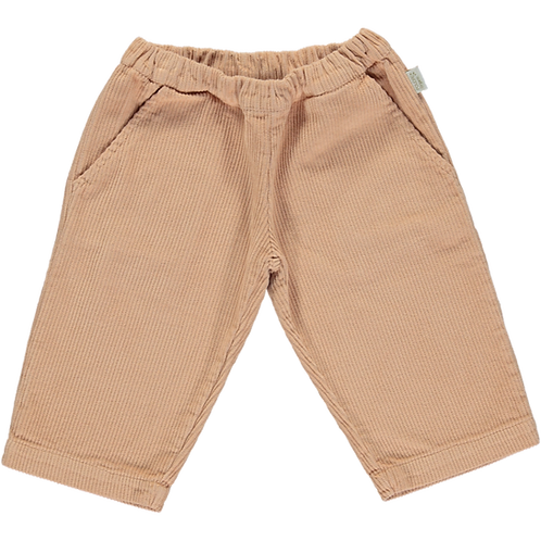 POUDRE ORGANIC - Pantalon en velours Pomelos Maple sugar