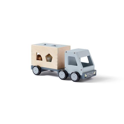 KID'S CONCEPT - Camion puzzle encastrement