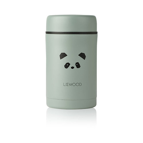 LIEWOOD - Pot en inox Bernard food jar panda peppermint