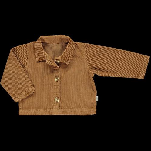 PO AW20 veste pistache velours côtelé brown sugar