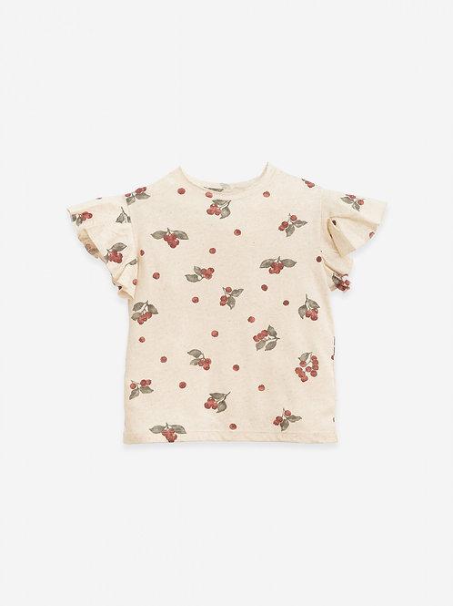 PLAY UP - T-shirt imprimé jersey