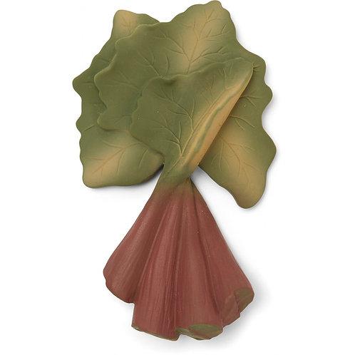 KONGES SLOJD - Rhubarbe hochet dentition