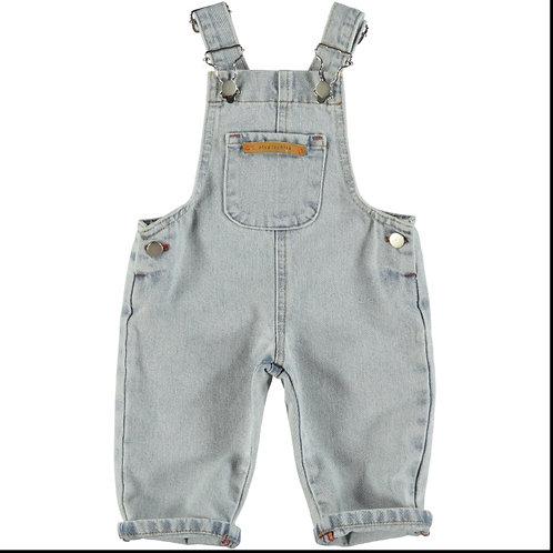 PI SS21 Dungaree salopette en jeans