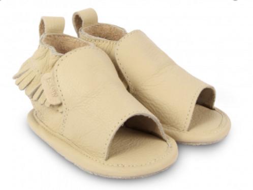 BOUMY - Noa, cream leather