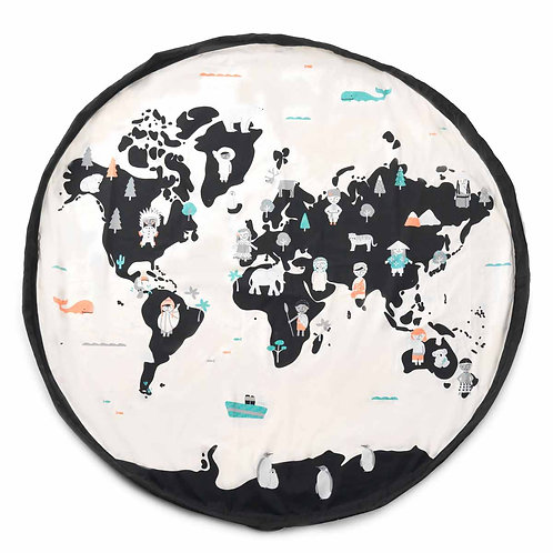 PLAY AND GO - Sac Worldmap