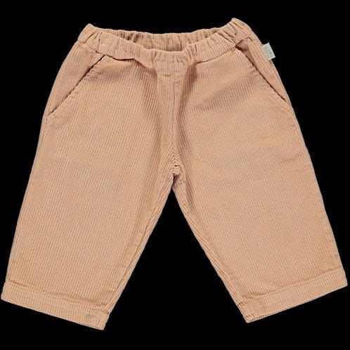 PO AW20 Pomelos pantalon velours côtelé maple sugar