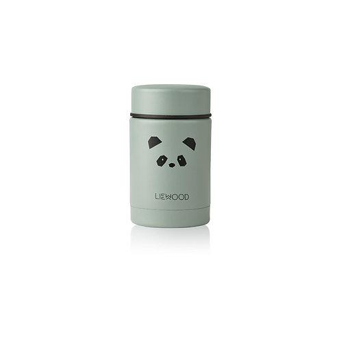 LIEWOOD - Pot en inox Nadja food jar Panda green