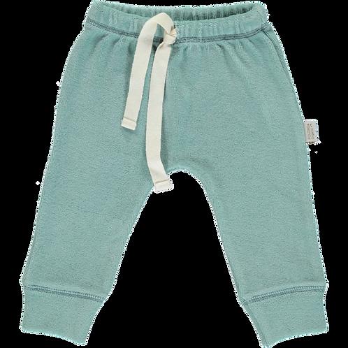 POUDRE ORGANIC - Legging éponge bleu clair