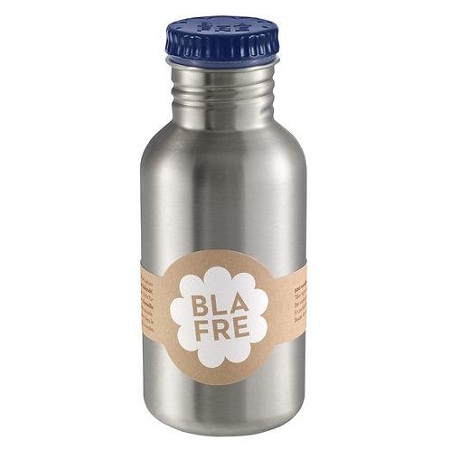 BLAFRE - gourde en inox 500 ml bleu marin