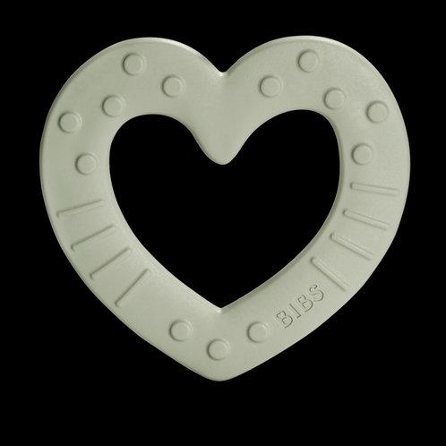 MUSHIE - Anneau de dentition coeur sauge