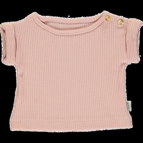 POUDRE ORGANIC - Teeshirt, Bourrache rose