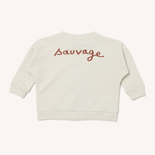 Loup - Sweat zippé Sauvage
