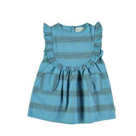 PIUPIUCHICK - Robe/ Dress deep blue multicolor