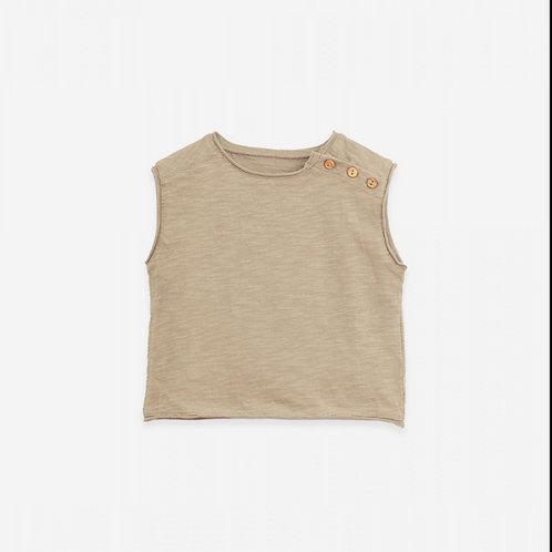 PU SS21 - Sleeveless T-shirt | Botany