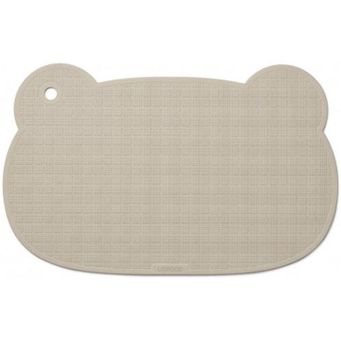 LIEWOOD - Sailor Tapis de bain antidérapant beige