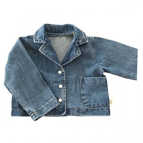 POUDRE ORGANIC - Veste en jeans