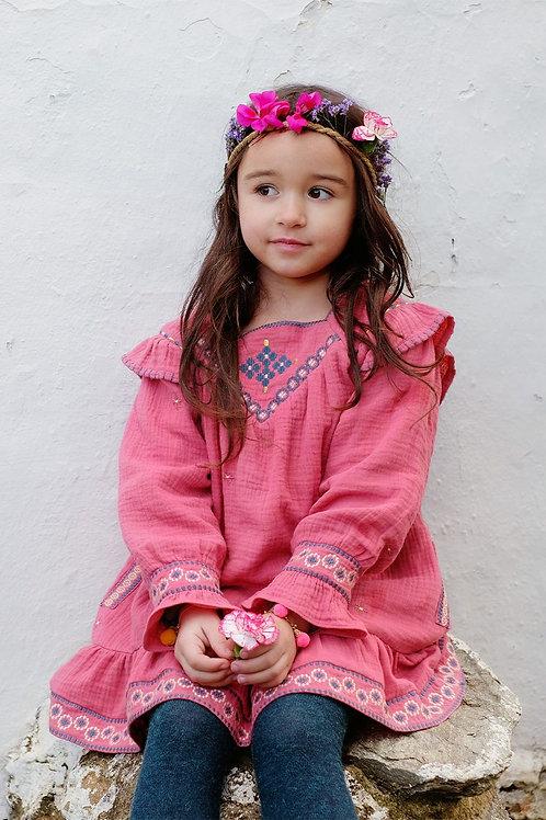 LOUISE MISHA - Robe groseille