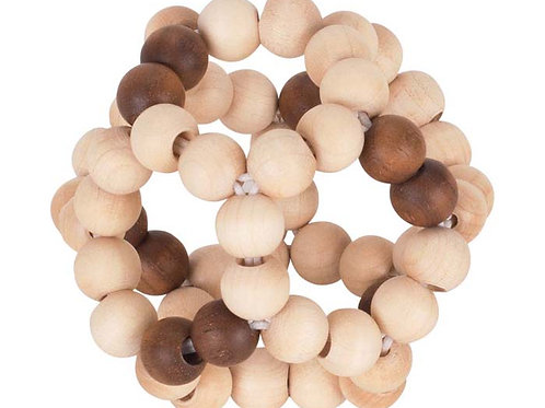 Heimess - Balle élastiques perles de bois