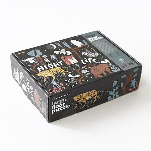 WEE GALLERY - Grand puzzle en carton Nightlife