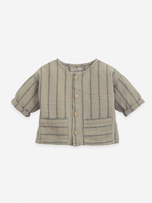PLAY UP - Chemise lignée/ Woven shirt with long sleeves | Botany