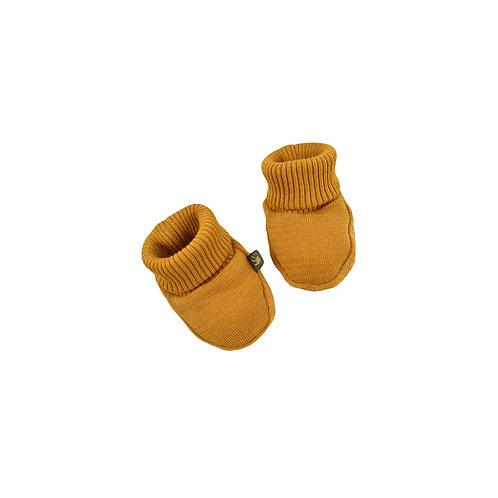 FORGAMINNT - Chausson à base de résine d'ambre moutarde