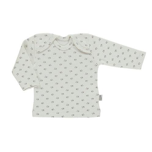 Liste Belin Perrillat - T-shirt Poudre Organic fleurs 24 mois