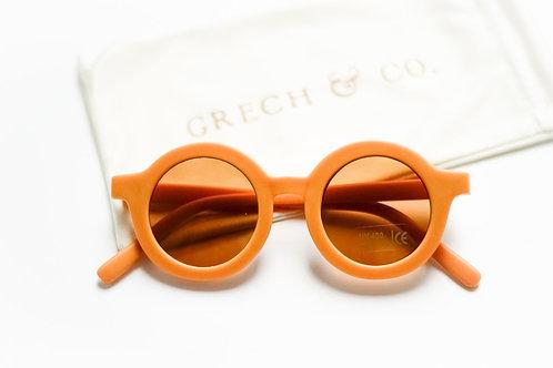 Grech  Co - Lunette de soleil rétro golden