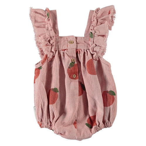 PIUPIUCHICK - Baby Romper Frills Light Pink