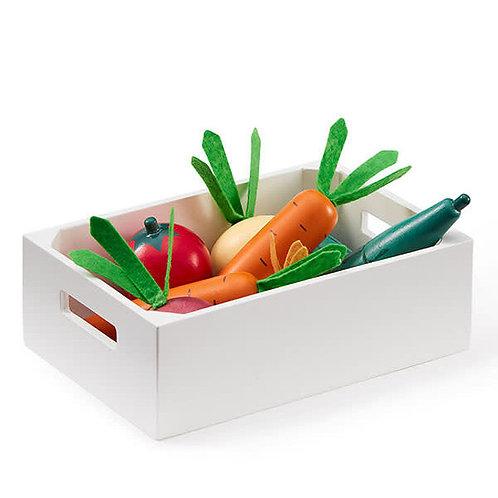 KID'S CONCEPT - Caisse de légumes en bois