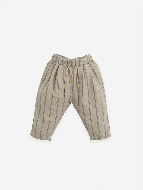 PLAY UP -Pantalon lignée/Woven trousers with pockets | Botany