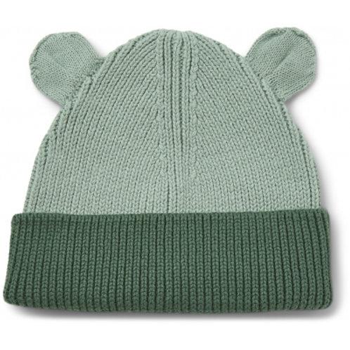 LIEWOOD - Gina - Bonnet bicolore vert