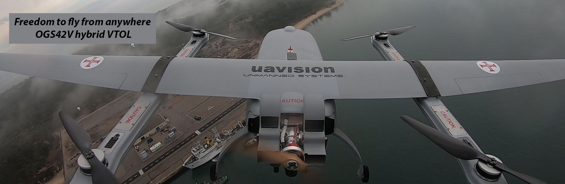 Ogassa OGS42 VTOL Hybrid UAS